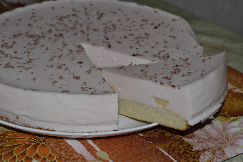 Йогуртовый торт с бананом рецепт с пошаговым фото